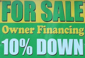 Owner Financing Sign